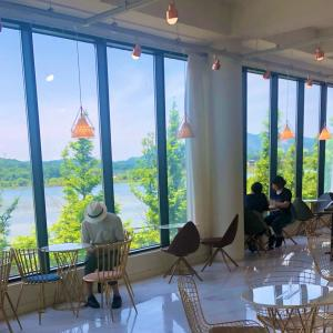 眺めの良い Cafe MAXXI