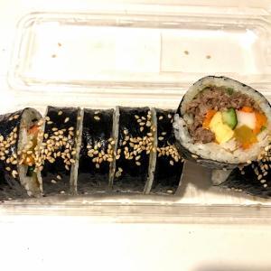 【PEGOPA キンパ&チキン】キンパ好きなのでうれしい!プルコギ味とスルメ味を購入しました(逆瀬川駅)