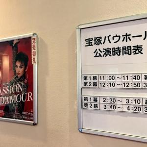 【宝塚歌劇感想】久々の生観劇はカチャコン!凪七瑠海「ロマンチック・ステージ『パッション・ダムール -愛の夢-』」が激熱