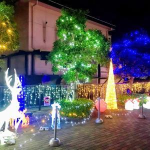 【さくら橋公園】クリスマスイルミネーションのレベルが高いのでおすすめ(宝塚南口)