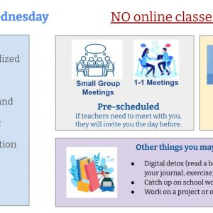 毎週水曜日はオフライン授業!? オンライン授業になった学校の実態!!