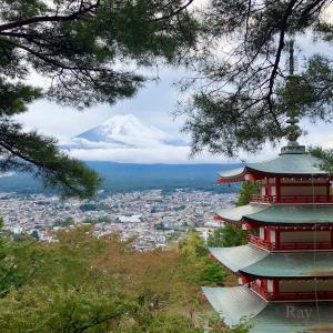【富士山ツーリング3】新倉山 浅間神社