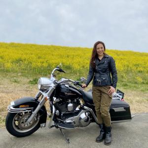 VIBES撮影と菜の花〜赤城山ツーリング1