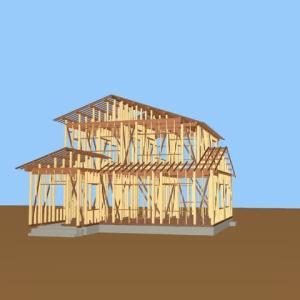 木造の軸組