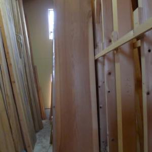 杉無垢材の天井板