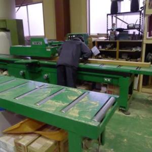 材木の加工