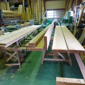 杉の造作材