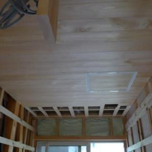 脱衣室の天井