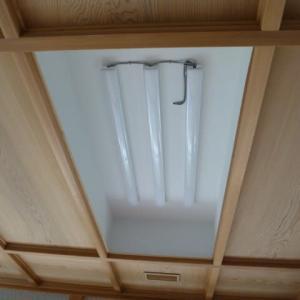 和室の天井照明