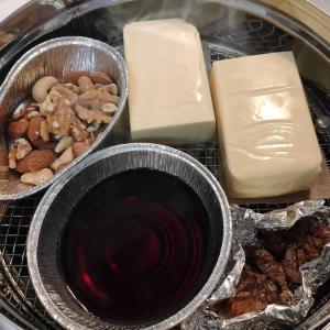 【今週の燻製】あったら便利!!チーズ・無花果・ナッツ・醤油の燻製。