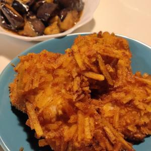 【簡単レシピ】ザクザク衣の鶏カツと茄子の揚げ浸し