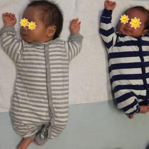 双子出産・退院後の生活