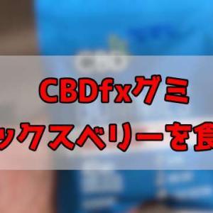 【検証】CBDグミ CBDfx ミックスベリーを食べた【レビュー】