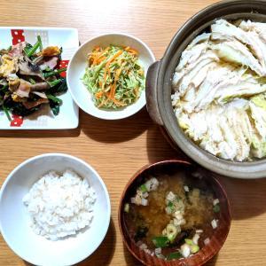 鶏胸肉と白菜のミルフィーユ鍋