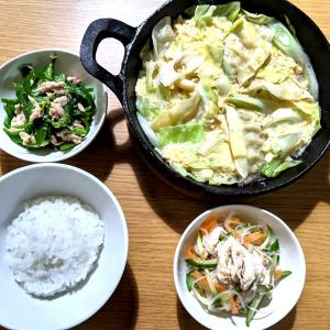 卵とじ水餃子の中華スープ