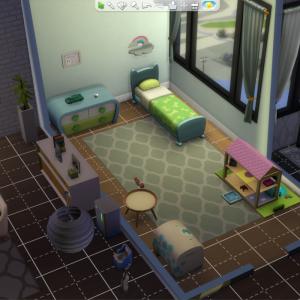新しい家具とアキラの肉体改造。