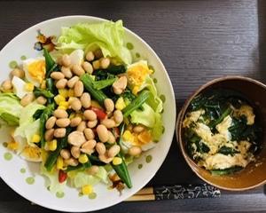 大豆サラダ簡単レシピ