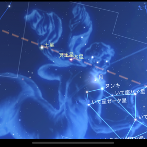 暗くなるのが早くなったので、子どもたちと星空観察してます