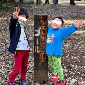 【柏市手賀の丘公園】子どもが夢中で遊ぶアスレチックが盛りだくさん!