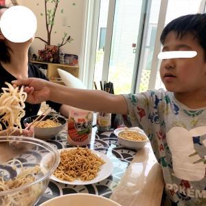 明星まぜそばニンニクしょうゆ味!野菜嫌いな子どもが、死ぬほど野菜を食べてくれる!