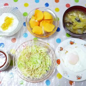 メンチカツ・アジフライ 10月27日の食事 休みでした〜