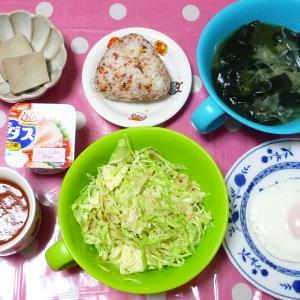 イカの照り焼き・鶏豆腐・キムチスープですいとん 1月15日の食事 いつまで引き篭もれば良いの〜