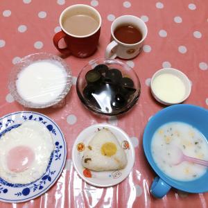 やっと買った😊 メカジキのニンニク醤油ソテー・金時草のお浸し・フカヒレスープ・エノキのカリカリ焼き 8月29日の食事