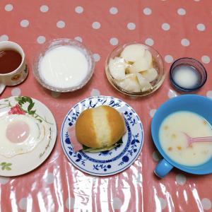 体温が上がった⬆️ 煮込みうどん・カライ〜カ・カブの糠漬け・手羽先焼き 9月8日の食事