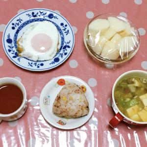 炭水化物が食べたくなる時 ツナサラダ・小松菜とニンニクのサラダ 9月14日の食事