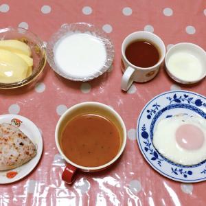 体温がどんどん下がっていく😨 温かいお蕎麦とノンアル 9月26日の食事