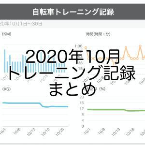 トレーニング記録まとめ【2020年10月】