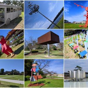 奇妙で楽しい屋外アートの世界『ときわ公園 彫刻の丘』(宇部市)