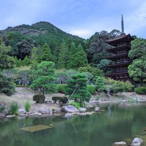 室町時代の五重塔と大内文化を残す古刹『瑠璃光寺』(山口市)