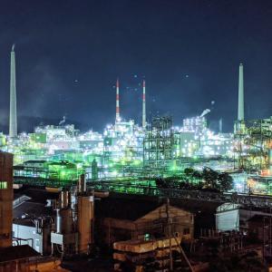 きらめく周南工場夜景を見るにはここがおすすめ!(徳山市)