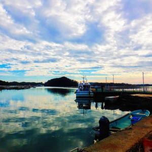 浦戸諸島 Part 4 鏡のような海が広がる朴島 (塩釜市)