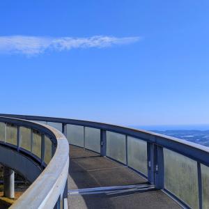 360°広がる渥美半島のパノラマ『蔵王山展望台』(田原市)