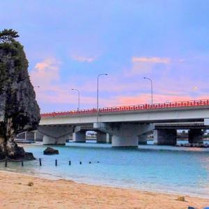 那覇市唯一の海水浴場『波の上ビーチ』と沖縄総鎮守『波上宮』(那覇市)