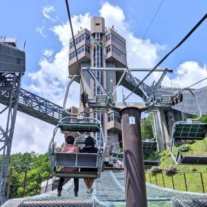 スリル満点のラージヒル『白馬ジャンプ競技場』(白馬村)