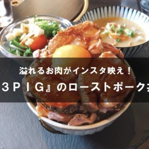 【豊田市】『3PIG』の自家製ローストポーク丼【インスタ映え】