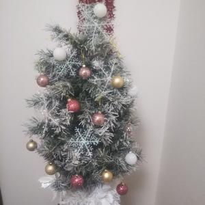 サロンもクリスマス仕様でウキウキ