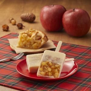 ローソン アップルパイ味アイスに秋味
