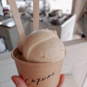 CAFUNE(カフネ)で優しい甘さのアイスクリームを堪能【宜野湾市】
