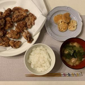 唐揚げを1.5キロ揚げる☆