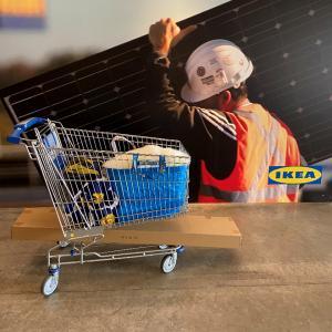 IKEAで買ったもの◇カートの中身一挙公開!クリスマス雑貨・キッチン雑貨・ベッドリネンなどなど
