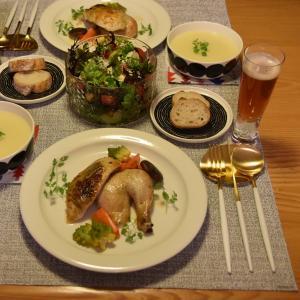 クリスマスの食卓◇年末恒例のローストチキン