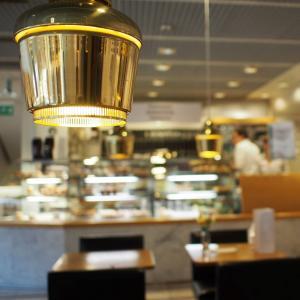 ハルカの光◇照明のドラマ見始めました♪照明は優しいインテリア CAFE AALTO