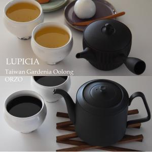 LUPICIA◇オルヅォと烏龍茶を買いました 常滑焼のティーポットと急須でいれるイタリアと台湾のお茶