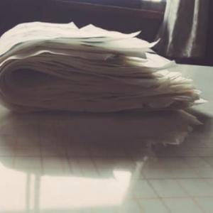 反古紙のリサイクル法について