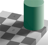 AとBは同じ色である