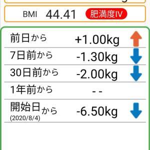 体重記録63日目